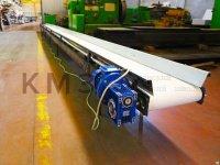 Транспортер ленточный прямой с защитными бортами ТЛП 2